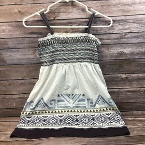 Twenty One tank top shirt boho festival m medium